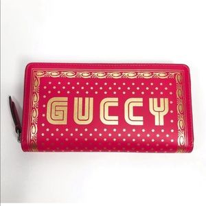 Gucci Pink Wallet. Authentic brand new from Gucci